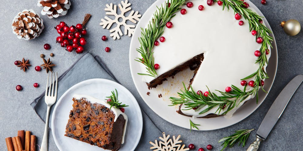 Recette Gâteau de Noël aux épices et fruits confits facile ...