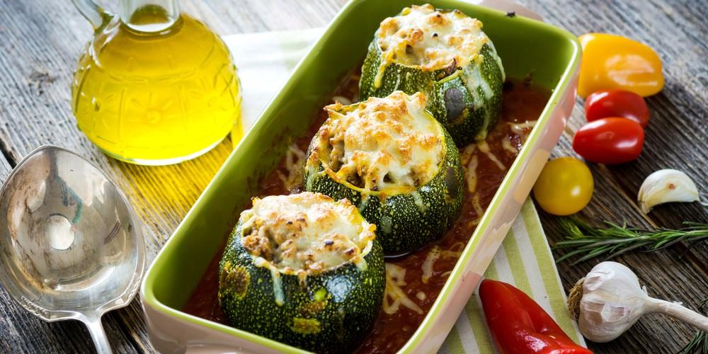 Recette Courgettes farcies au thon et au riz facile | Mes recettes faciles