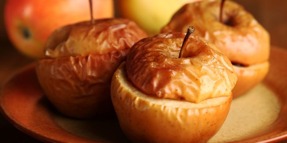 Compota de manzanas caramelizadas