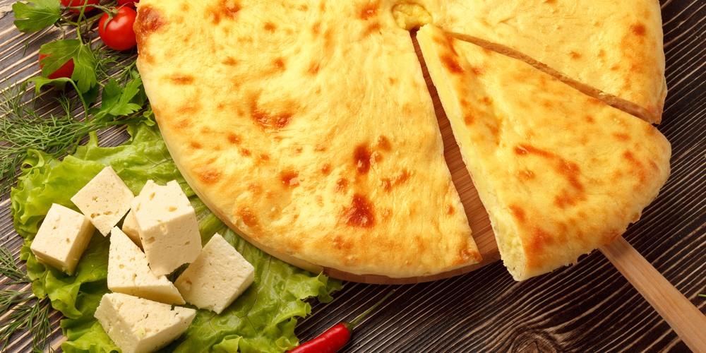 Pastel de cebolla y queso