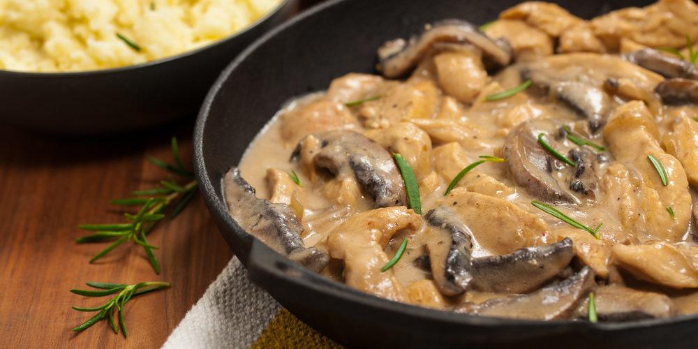 Recette Blanquette de poulet aux champignons facile | Mes recettes faciles