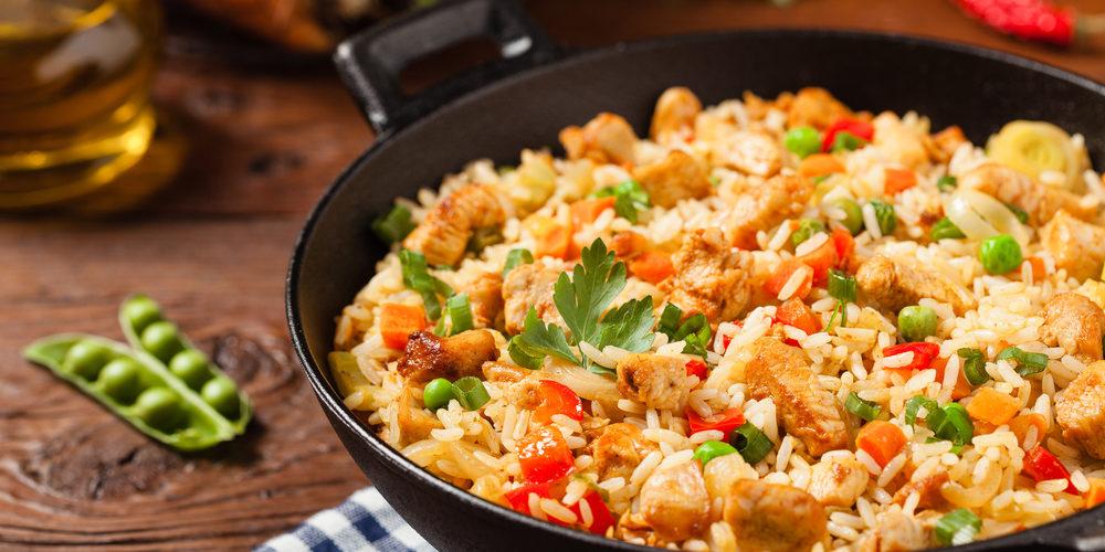 Recette Riz au poulet facile | Mes recettes faciles